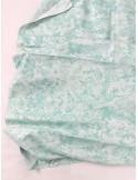 Ткань 100 % хлопок, Голубой мрамор с глиттером , ширина 110 см, плотность 155 г/м2, производитель Корея