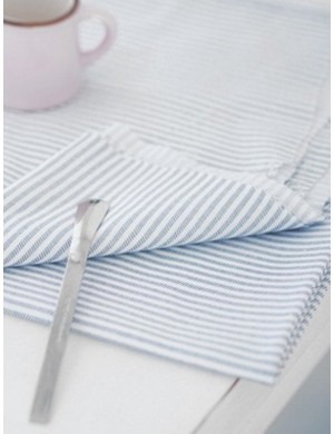Ткань 100 % хлопок, Полоска-штрих 6 мм, ширина 110 см, плотность 155 г/м2, производитель Корея
