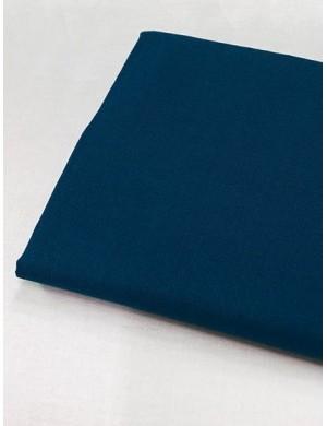 Ткань 100 % хлопок, Однотонная сине-бирюзовая, ширина 110 см, плотность 155 г/м2, производитель Корея
