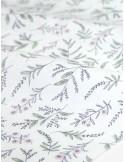 Ткань 100 % Хлопок Dailylike, Сиреневые веточки, Плотность 165 г/м2, ширина 110 см.