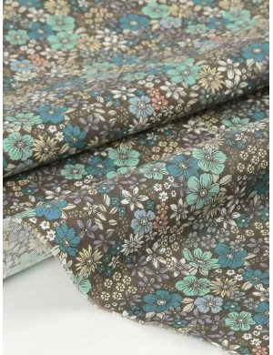 Ткань 100 % хлопок, Цветочная поляна, ширина 110 см, плотность 155 г/м2, производитель Корея