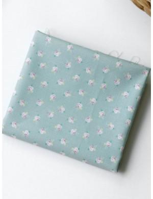 Ткань 100 % хлопок, Розочки шебби, ширина 110 см, плотность 155 г/м2, производитель Корея