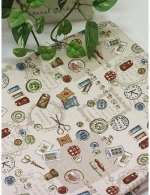 Ткань 100 % хлопок, Швейный мир, ширина 110 см, плотность 155 г/м2, производитель Корея