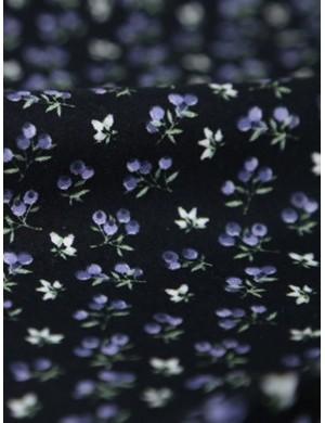 Ткань 100 % хлопок, Черника ягоды, ширина 110 см, плотность 155 г/м2, производитель Корея