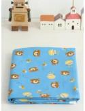Ткань 100 % хлопок, Медведи и мед, ширина 110 см, плотность 155 г/м2, производитель Корея
