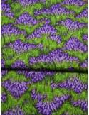 Ткань 100 % хлопок, Лавандовое поле, ширина 110 см, плотность 155 г/м2