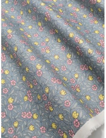 Ткань 100 % хлопок, Полевые цветочки, ширина 110 см, плотность 155 г/м2, производитель Корея