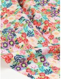Ткань 100 % хлопок, Цветочная фантазия, ширина 110 см, плотность 155 г/м2, производитель Корея