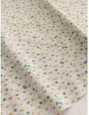 Ткань 100 % хлопок, Ромашковое поле, ширина 110 см, плотность 155 г/м2, производитель Корея