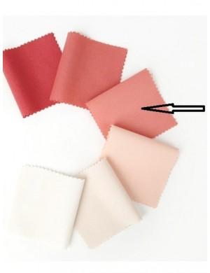 Ткань 100 % хлопок, Однотонная лососевая, ширина 110 см, плотность 155 г/м2, производитель Корея