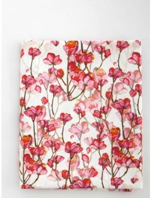 Ткань 100 % хлопок, Сакура цветущая, ширина 110 см, плотность 155 г/м2, производитель Корея