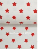 Ткань Хлопок 100 %, Красные звезды, ширина 147 см, плотность 145 г/м2